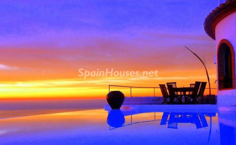 La villa perfecta para los amantes de lo exótico en Salobreña, Granada