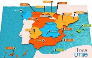 4trim2014 tinsa 300x190 - 7 provincias con un ajuste de más del 50% y en 8 capitales los precios aún bajan más del 10%