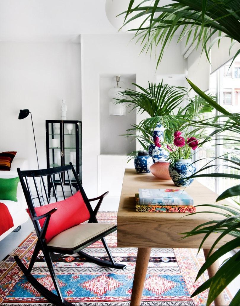 5 10 - Precioso piso en Madrid lleno de color, luz y alegre diseño contemporáneo