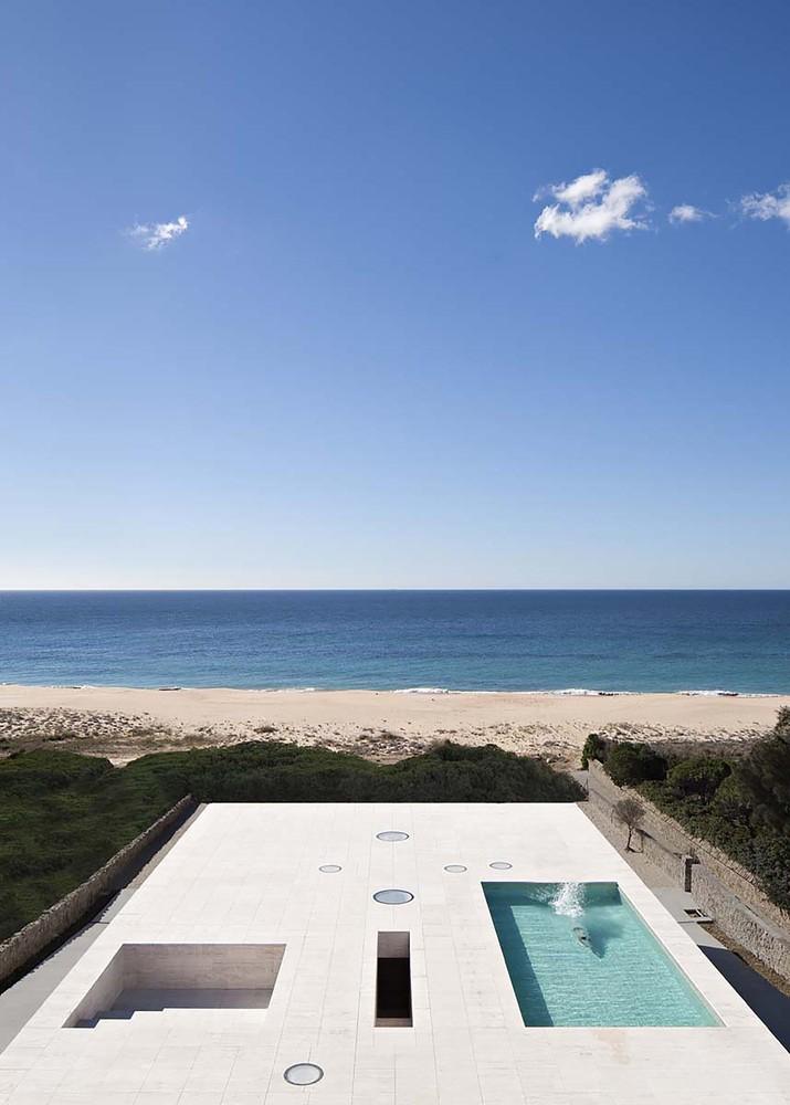 """5 13 - """"Casa del infinito"""": Horizonte espectacular de cielo y mar en Zahara de los Atunes (Cádiz)"""