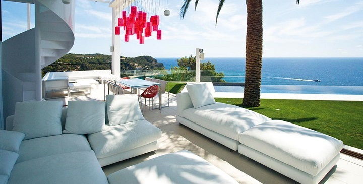 5 14 - Diseño en el acantilado en una fantástica casa en Tossa de mar (Costa Brava, Girona)