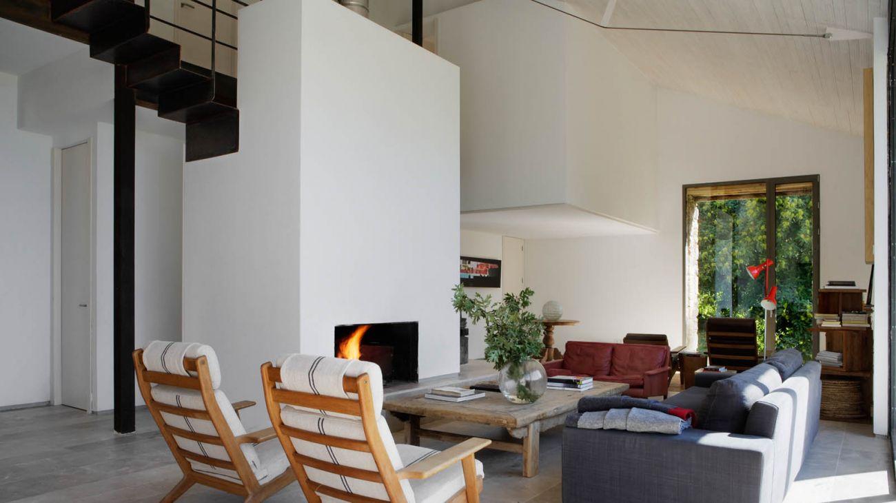 5 salon - De antiguo establo rural a fantástica casa rústica en Cáceres: un remanso de paz y naturaleza