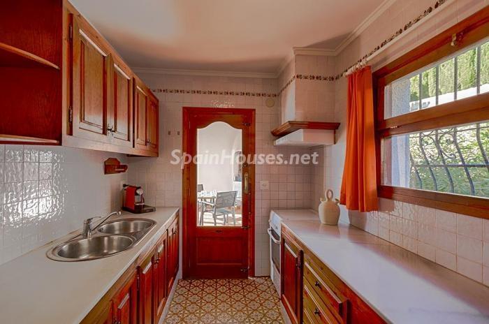 510 - Genial villa en alquiler de vacaciones en Benissa (Costa Blanca): valle, montaña y mar