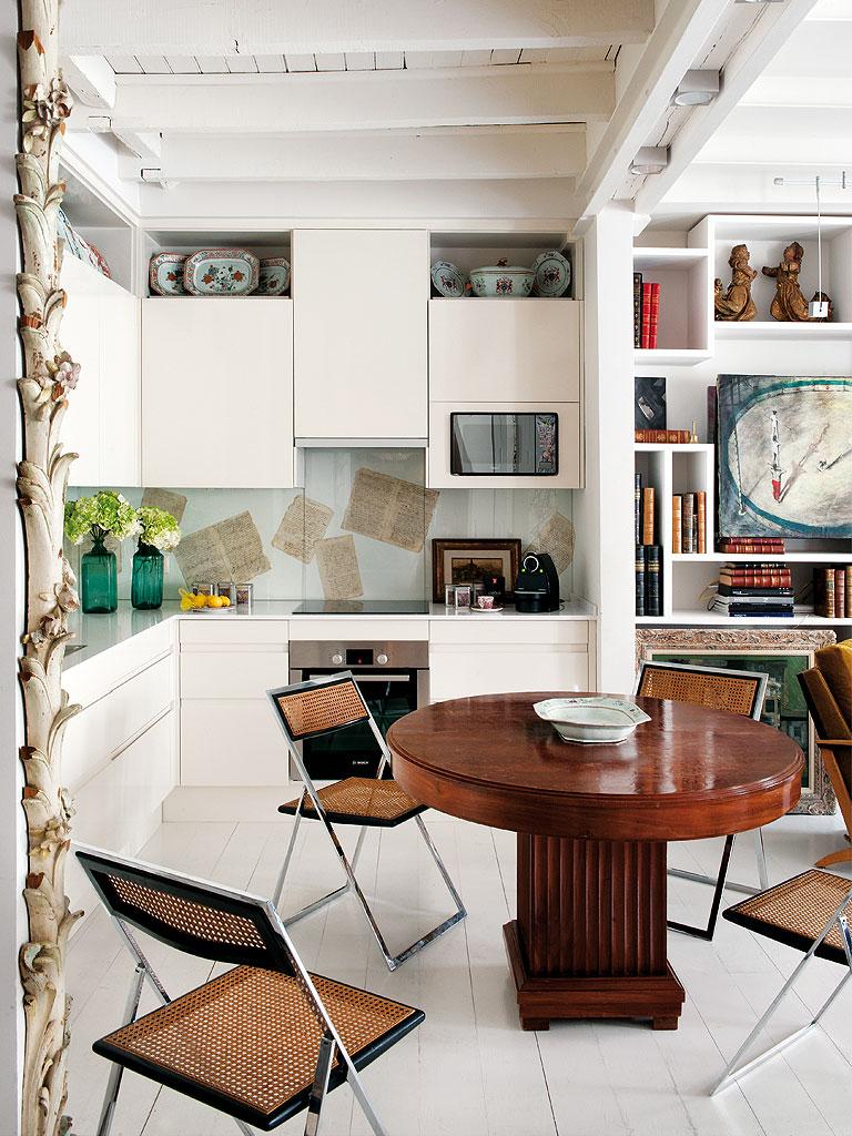519 - Precioso piso reformado en Madrid: toque ecléctico lleno de luz, arte y decoración