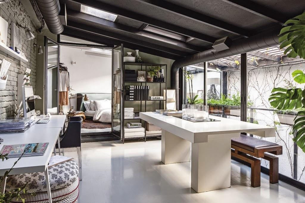 520 - De antiguo taller a moderno y encantador loft en el barrio de Salamanca de Madrid