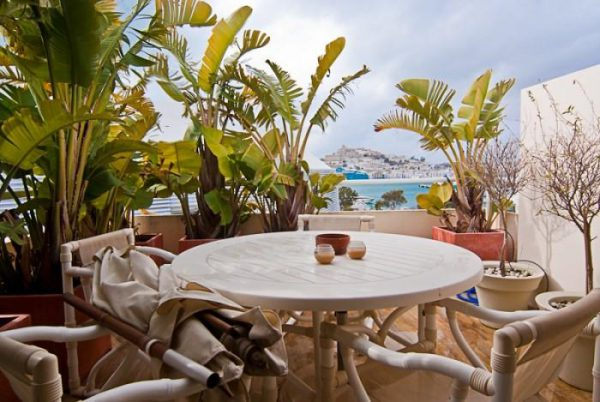 Estilo de las islas paradisíacas en este espectacular ático