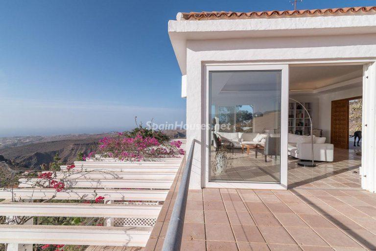 Descubre a través de esta casa el fantástico paisaje rural y natural de la Isla de Gran Canaria