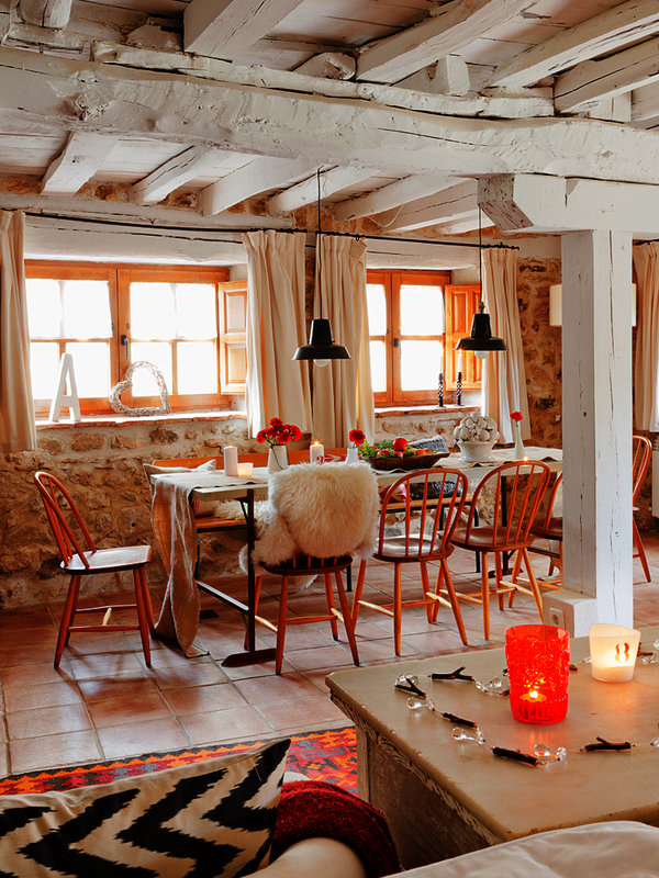 6 2 - Toque cálido de primavera en una preciosa casa de campo en Sepúlveda, Segovia