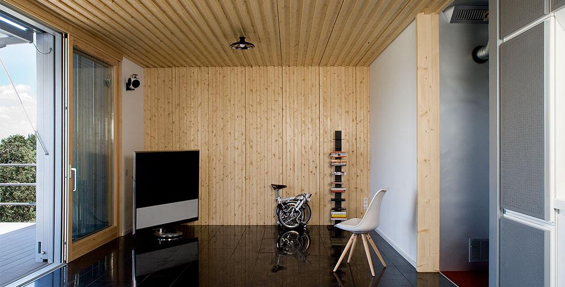 6 20 - Casa futurista o bella nave espacial para vivir en La Moraleja (Alcobendas, Madrid)
