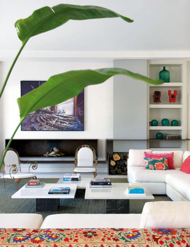 6 3 - Toque refrescante y ecléctico en una preciosa casa en Sotogrande (Costa de la Luz, Cádiz)
