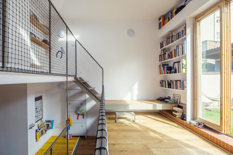 """6 5 - """"La Casa de Juno"""": original, sorprendente y práctica vivienda en Poblenou, Barcelona"""