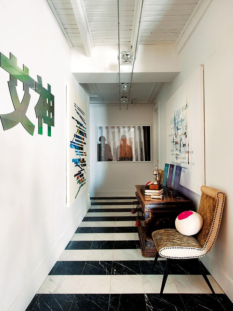 616 - Precioso piso reformado en Madrid: toque ecléctico lleno de luz, arte y decoración