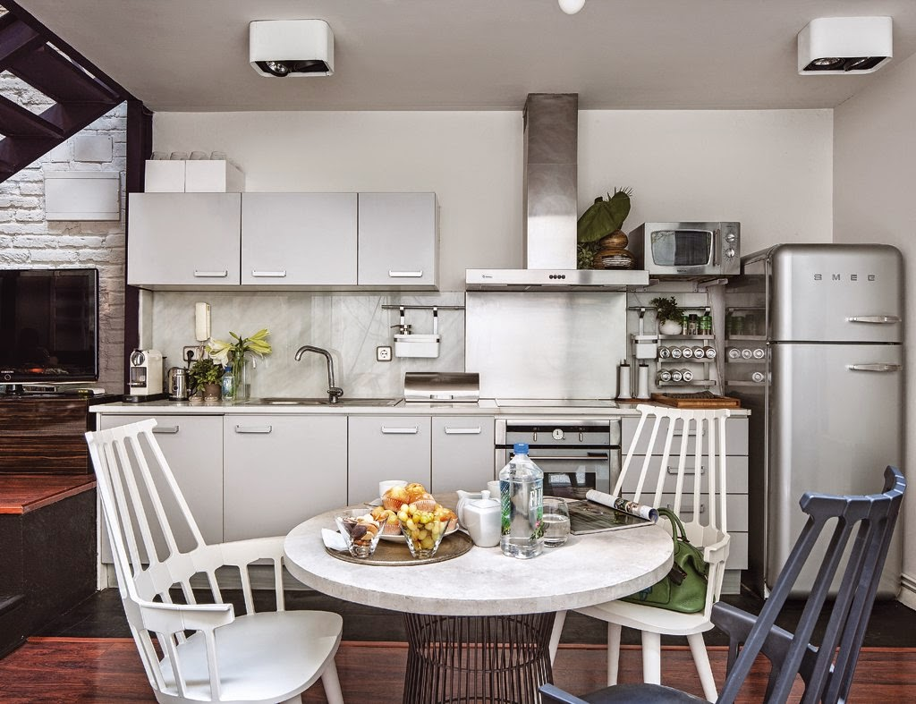 De antiguo taller a moderno y encantador loft en el barrio de Salamanca de Madrid