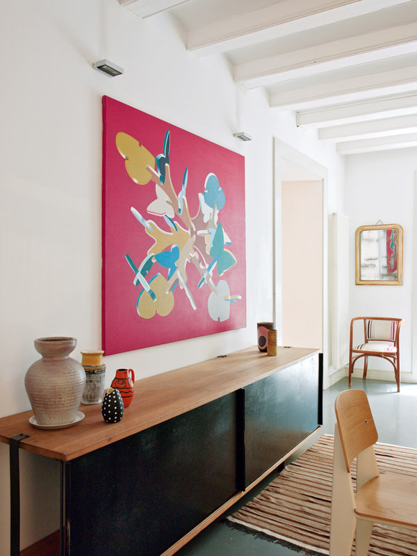 618 - Toque cosmopolita y un patio interior encantador en un piso en el Gòtic de Barcelona