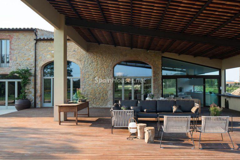Villas perfectas para disfrutar de todas las ventajas que ofrece un porche