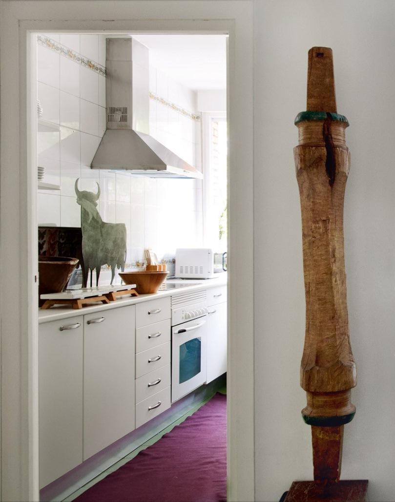 7 10 - Precioso piso en Madrid lleno de color, luz y alegre diseño contemporáneo