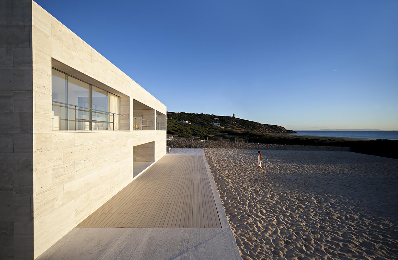 """7 13 - """"Casa del infinito"""": Horizonte espectacular de cielo y mar en Zahara de los Atunes (Cádiz)"""