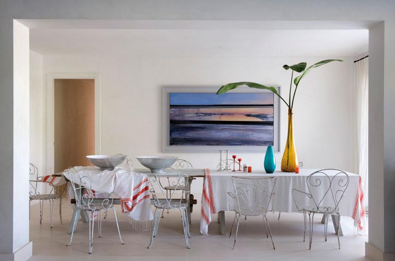 7 3 - Toque refrescante y ecléctico en una preciosa casa en Sotogrande (Costa de la Luz, Cádiz)