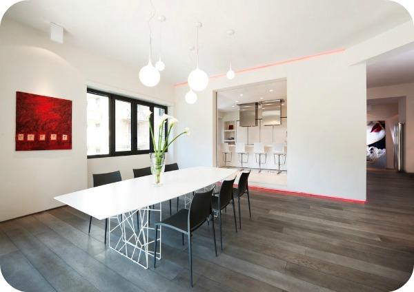 7 - Elegante apartamento romano por Carola Vannini Arquitectura
