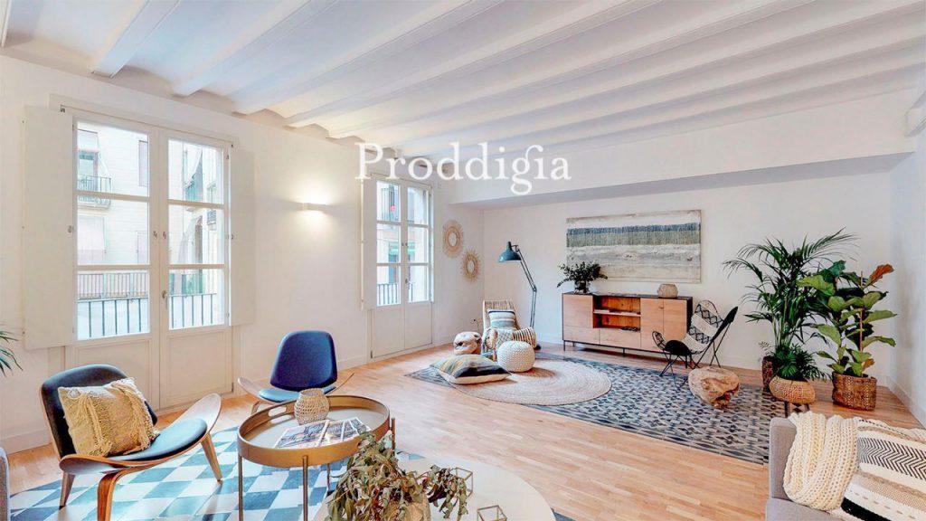 73414131 2737104 foto 196804 1024x576 - Si eres amante del mid-century moderno tu piso perfecto esta en Barcelona