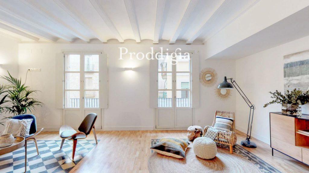 73414131 2737104 foto 277152 1024x576 - Si eres amante del mid-century moderno tu piso perfecto esta en Barcelona