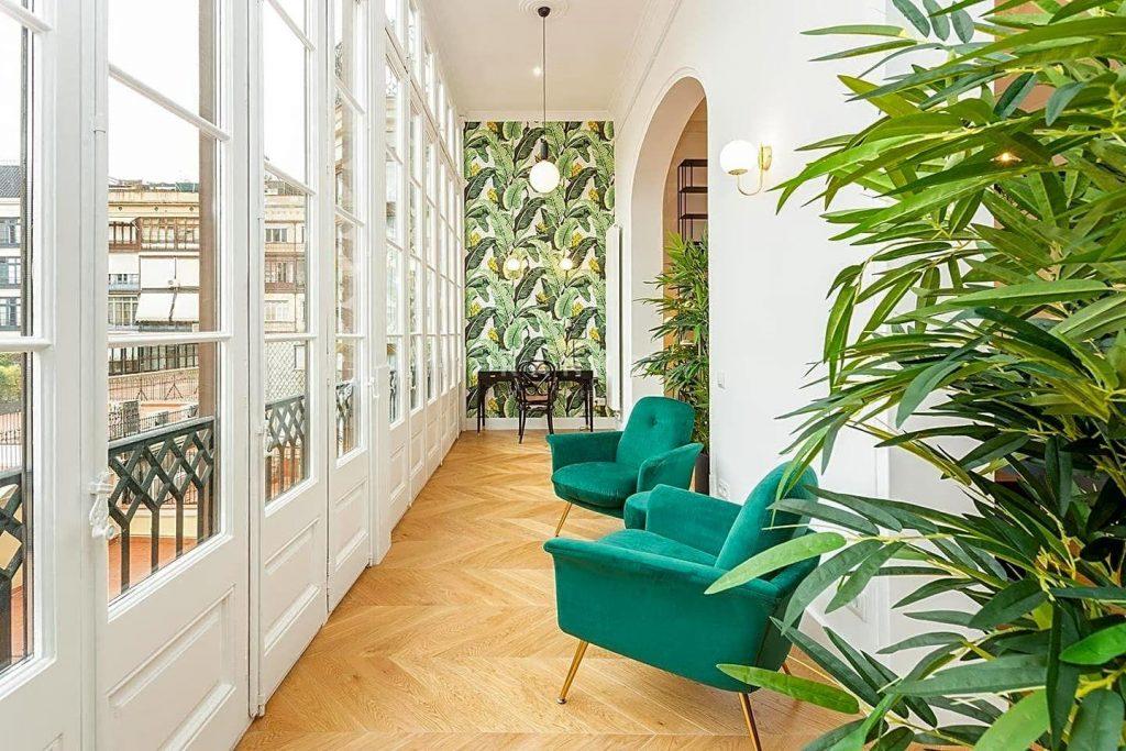 75089113 2918446 foto 081341 1024x683 - Apartamento de lujo y estilo Mid-Century Modern en L'Eixample Dreta (Barcelona)