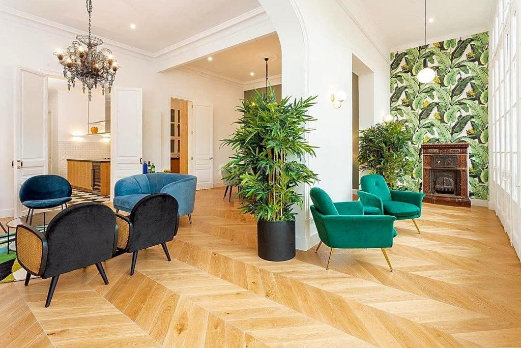 75089113 2918446 foto 608496 1024x684 - Apartamento de lujo y estilo Mid-Century Modern en L'Eixample Dreta (Barcelona)