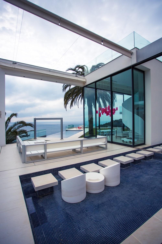 8 14 - Diseño en el acantilado en una fantástica casa en Tossa de mar (Costa Brava, Girona)