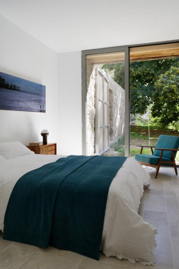 8 dormitorio - De antiguo establo rural a fantástica casa rústica en Cáceres: un remanso de paz y naturaleza