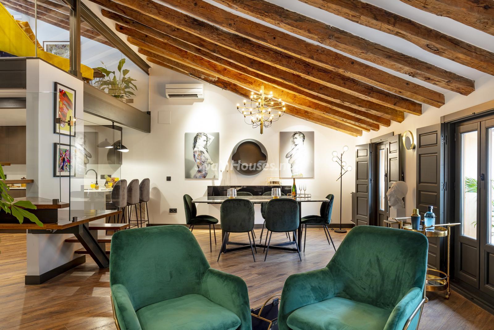 80012096 3159558 foto124728566 - Inspiración urbana y gran valor arquitectonico en este espectacular ático en Madrid