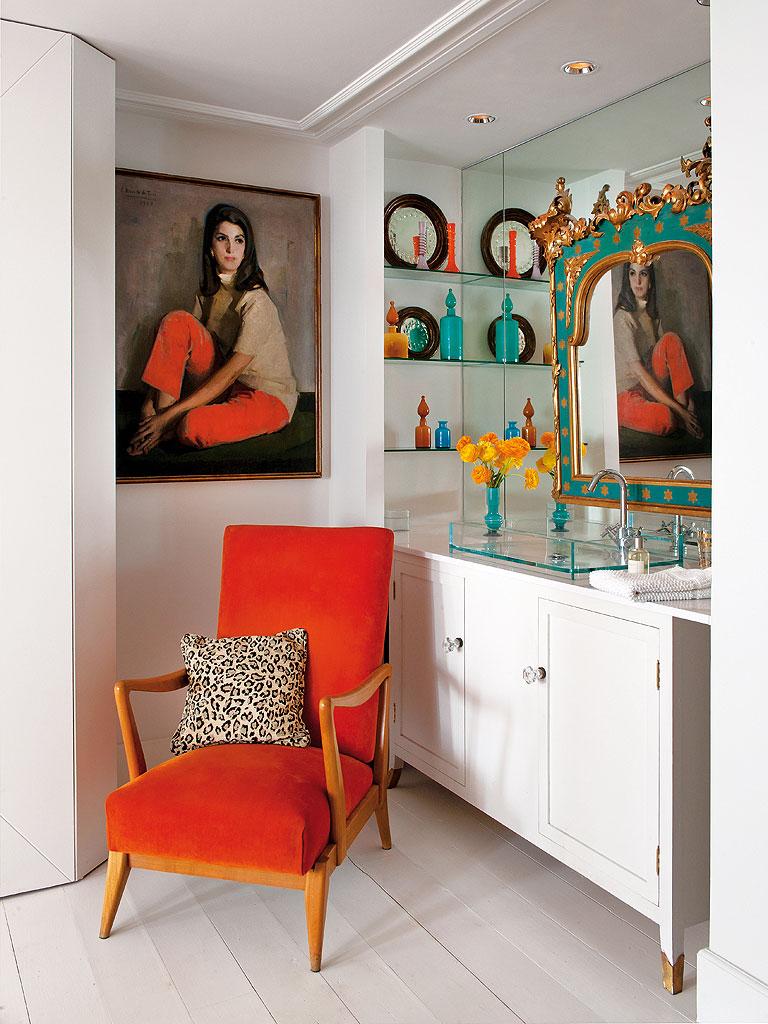 816 - Precioso piso reformado en Madrid: toque ecléctico lleno de luz, arte y decoración