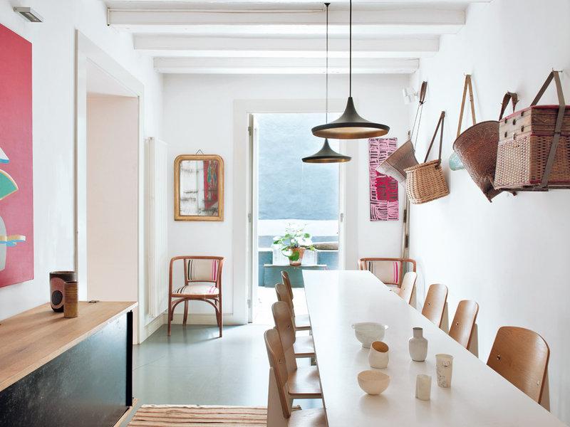 818 - Toque cosmopolita y un patio interior encantador en un piso en el Gòtic de Barcelona