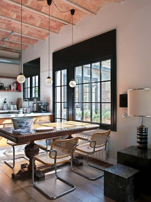 822 - Toque vintage con auténtico encanto en un genial loft reformado en Barcelona