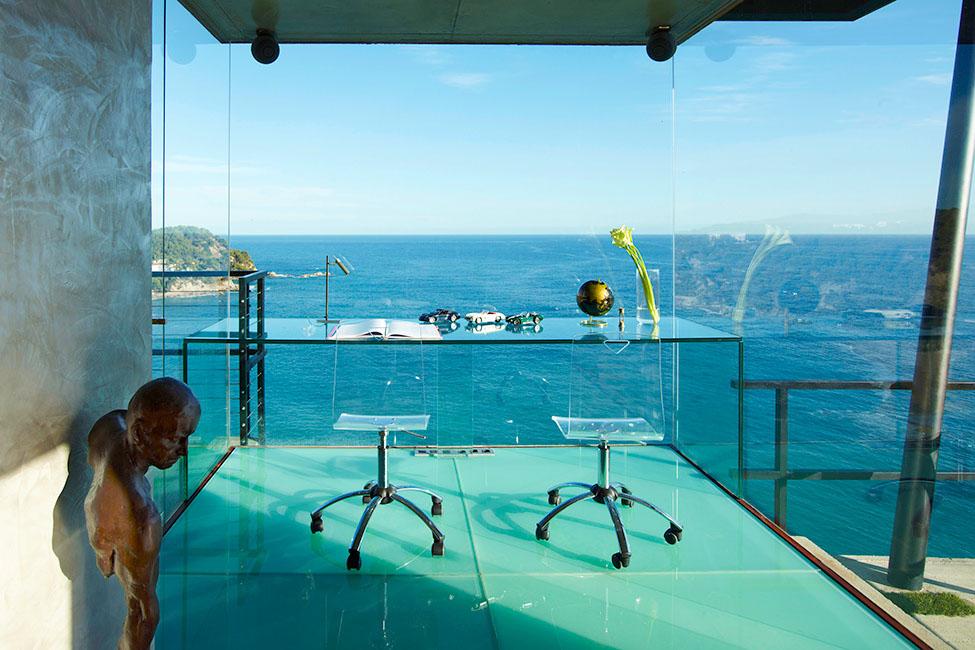 9 13 - Diseño en el acantilado en una fantástica casa en Tossa de mar (Costa Brava, Girona)