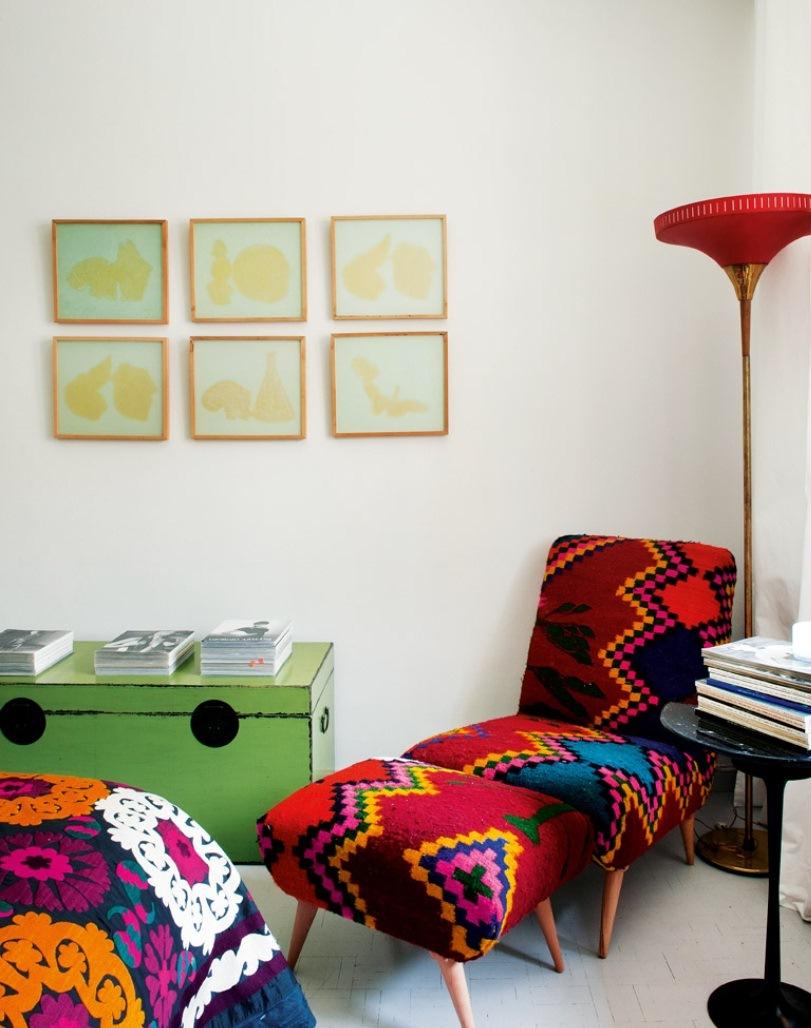 9 9 - Precioso piso en Madrid lleno de color, luz y alegre diseño contemporáneo