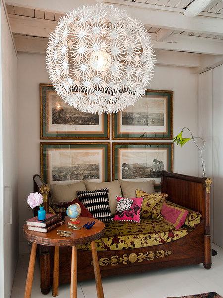 917 - Precioso piso reformado en Madrid: toque ecléctico lleno de luz, arte y decoración