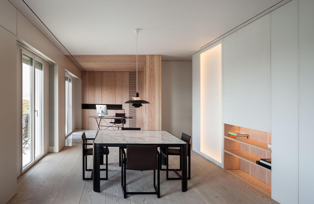 932 - Fantástico y moderno ático en Sevilla de elegante y cálido diseño minimalista