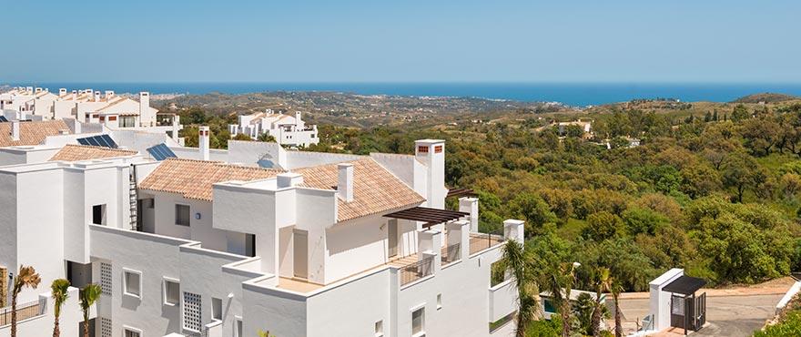 A4 La Floresta sur Exterior property for sale2 jun16 - Últimos apartamentos y áticos con vistas al mar en Elviria - Marbella. Ahora listos para vivir