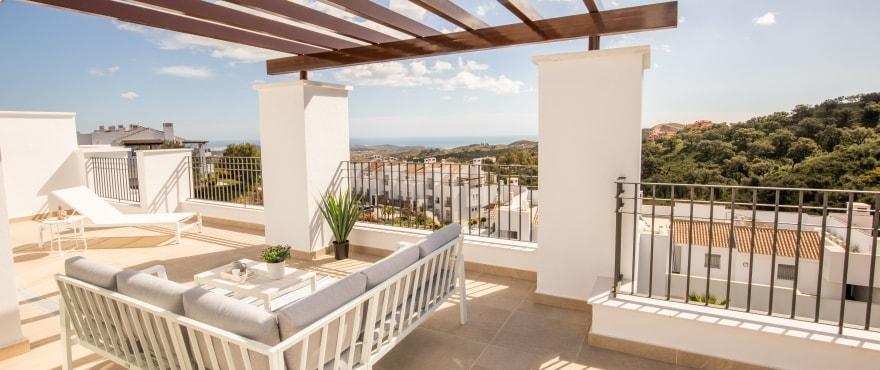A5 1 La Floresta Sur Terrace Mz 2019 - Últimos apartamentos y áticos con vistas al mar en Elviria - Marbella. Ahora listos para vivir