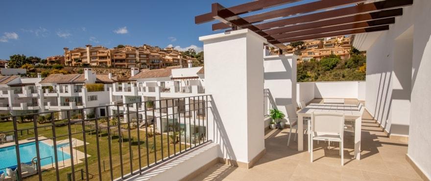 A5 2 La Floresta Sur Terrace Mz 2019 - Últimos apartamentos y áticos con vistas al mar en Elviria - Marbella. Ahora listos para vivir