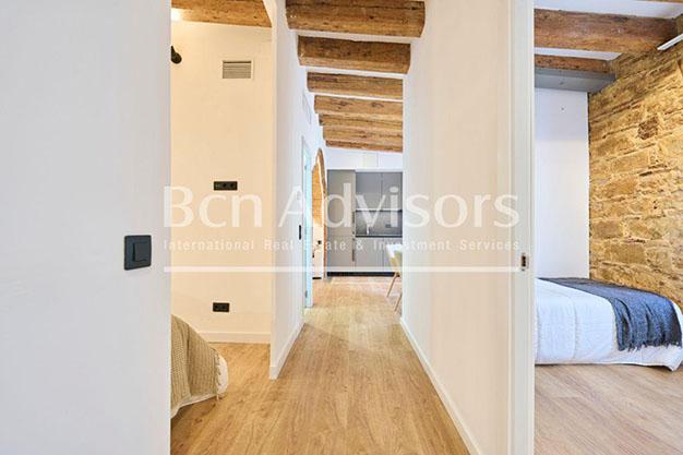 Artesonado atico lujo Barcelona - Este precioso ático de lujo en Barcelona puede ser tu próximo hogar en la Ciudad Condal