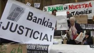 Acampada Bankia