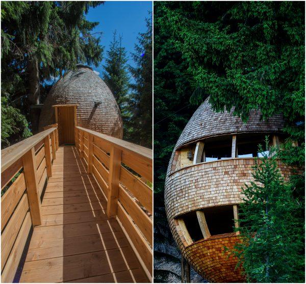 BeFunky Collage54 600x557 - ¿Imaginas pasar la noche en una casa colgante en medio de los Alpes Italianos?