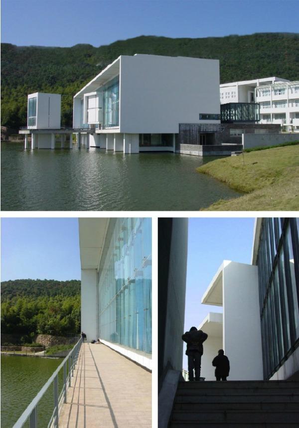 Biblioteca Wenzheng College1 - Recorrido por la arquitectura del Pritzker Wang Shu