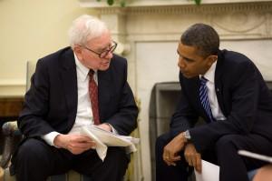 Buffet Obama 300x199 - Los 5 consejos de Warren Buffett para invertir en el mercado inmobiliario