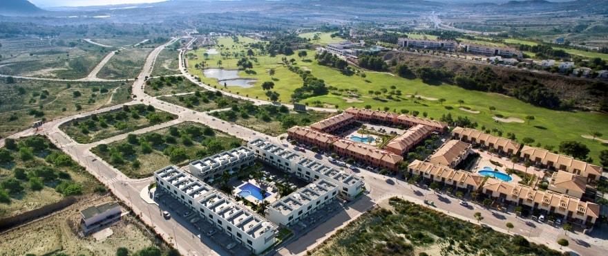 C2 Kiruna Residencial Alenda golf - Nuevos adosados en venta en Alenda Golf (Alicante) desde 173.000€. La mejor oferta/calidad de la zona