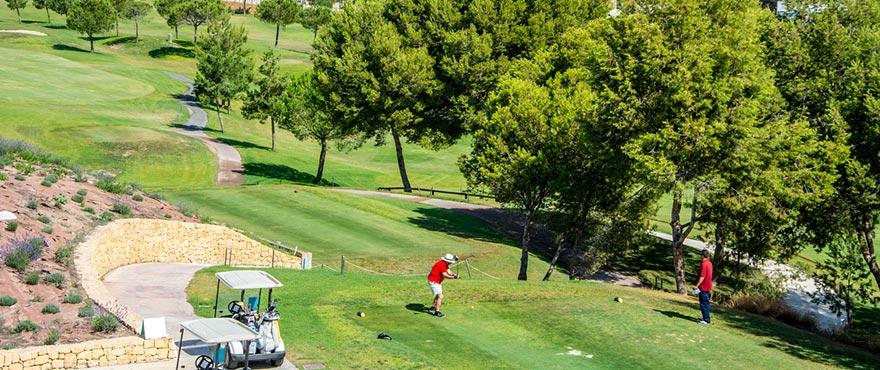 C5 Kiruna Residencial Golf NEW - Nuevos adosados en venta en Alenda Golf (Alicante) desde 173.000€. La mejor oferta/calidad de la zona