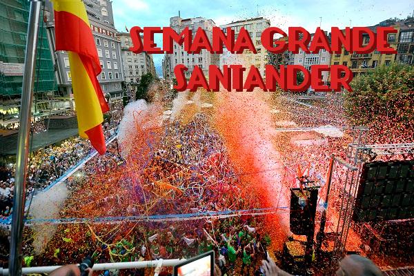 CHUPINAZO 2G015 - Semana Grande de Santander y su impacto en el turismo vacacional
