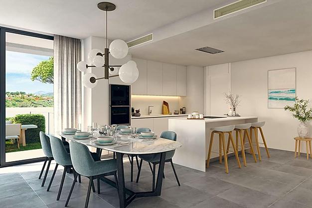 COCINA MARBELLA - Este apartamento de lujo en Marbella es una oportunidad única que no puedes perder