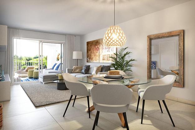 COMEDOR MALLORCA 1 - Oportunidad única: exclusivo apartamento en Mallorca a 500 metros de la playa